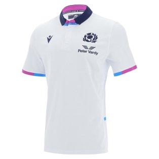 2021-2022 Scotland Away Cotton Rugby Shirt