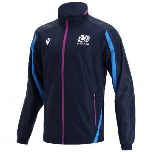 2021-2022 Scotland Full Zip Waterproof Jacket (with Mesh) Navy