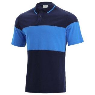 2021-2022 Scotland Leisure Polycotton Polo Shirt (Navy-Blue)