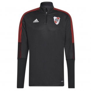 2021-2022 River Plate Training Top (Black)