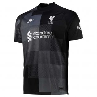 2021-2022 Liverpool Goalkeeper Shirt (Black)