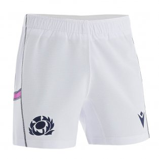 2021-2022 Scotland Home Rugby Shorts (Kids)