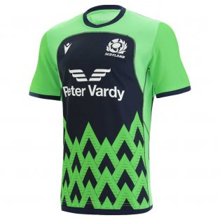 2021-2022 Scotland Rugby Training Jersey (Green)