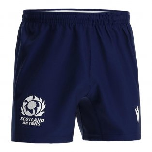 2021-2022 Scotland Home Rugby Shorts (Navy)