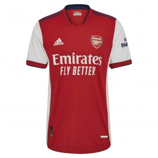 2021-2022 Arsenal Authentic Home Shirt