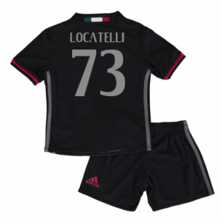 2016-17 Ac Milan Home Mini Kit (Locatelli 73)