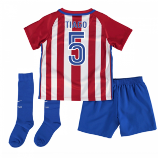 2016-17 Atletico Madrid Mini Kit (Tiago 5)