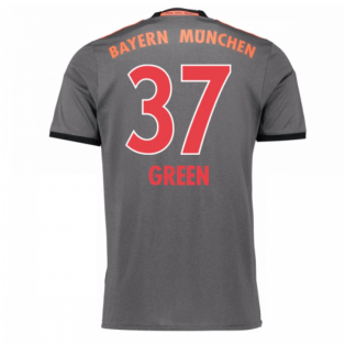 2016-17 Bayern Munich Away Shirt (Green 37)