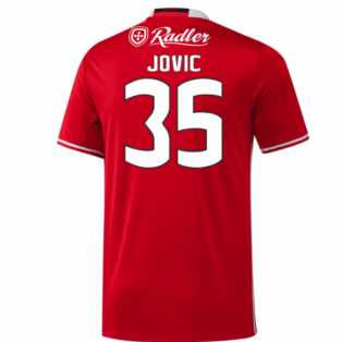 2016-17 Benfica Home Shirt (Jovic 35)