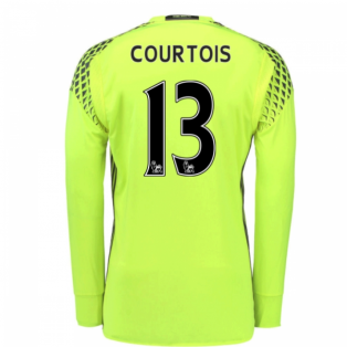 2016-17 Chelsea Home Goalkeeper Shirt (Courtois 13) - Kids