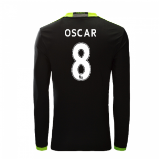 2016-17 Chelsea Away Long Sleeve Shirt (Oscar 8)