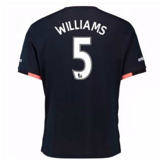 2016-17 Everton Away Shirt (Williams 5)