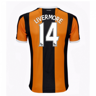 2016-17 Hull City Home Shirt (Livermore 14)