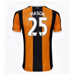 2016-17 Hull City Home Shirt (Mason 25)