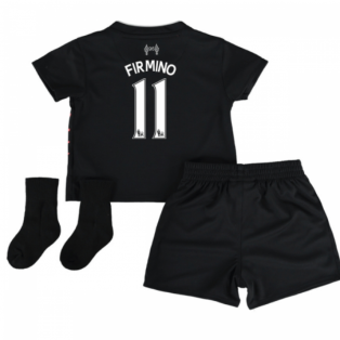 2016-17 Liverpool Away Baby Kit (Firmino 11)