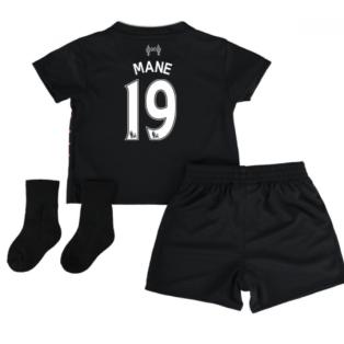 2016-17 Liverpool Away Baby Kit (Mane 19)