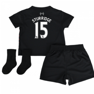2016-17 Liverpool Away Baby Kit (Sturridge 15)