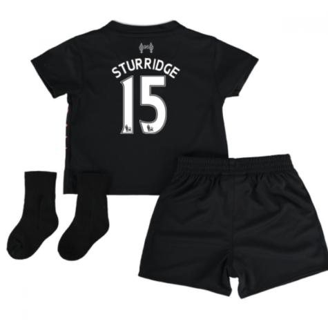 2016-17 Liverpool Away Baby Kit (Sturridge 15)
