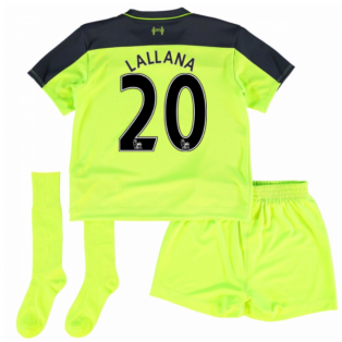 2016-17 Liverpool Third Mini Kit (Lallana 20)