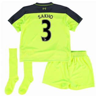 2016-17 Liverpool Third Mini Kit (Sakho 3)