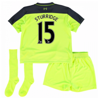 2016-17 Liverpool Third Mini Kit (Sturridge 15)