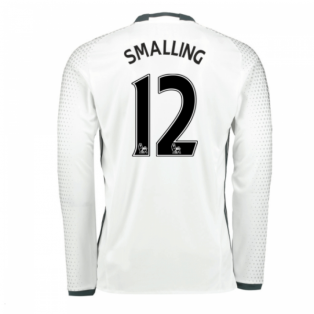 2016-17 Man United Third Shirt (Smalling 12)