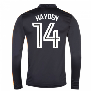 2016-17 Newcastle Away Long Sleeve Shirt (Hayden 14)