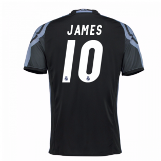 2016-17 Real Madrid 3rd Shirt (James 10)