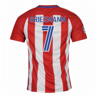 2016-17 Atletico Madrid Home Shirt (Griezmann 7)