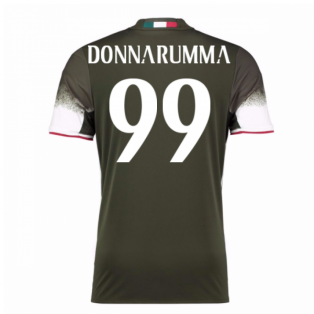 2016-17 AC Milan Third Shirt (Donnarumma 99)