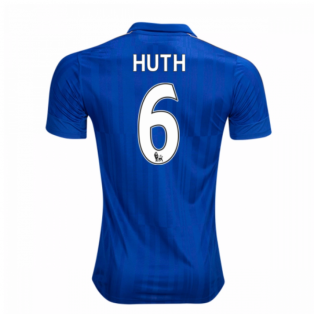 2016-17 Leicester City Home Shirt (Huth 6)