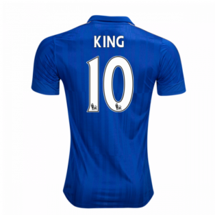 2016-17 Leicester City Home Shirt (King 10)