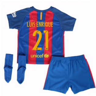 2016-17 Barcelona Home Baby Kit (Luis Enrique 21)