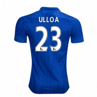 2016-17 Leicester City Home Shirt (Ulloa 23)