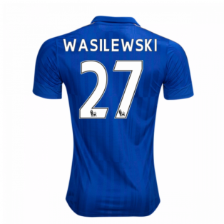 2016-17 Leicester City Home Shirt (Wasilewski 27)