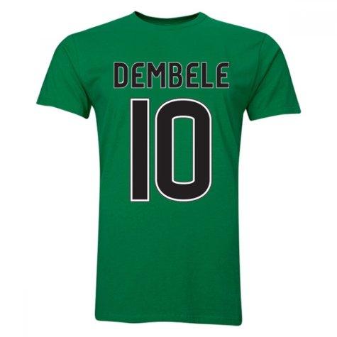 Moussa Dembele Celtic T-Shirt (Green)