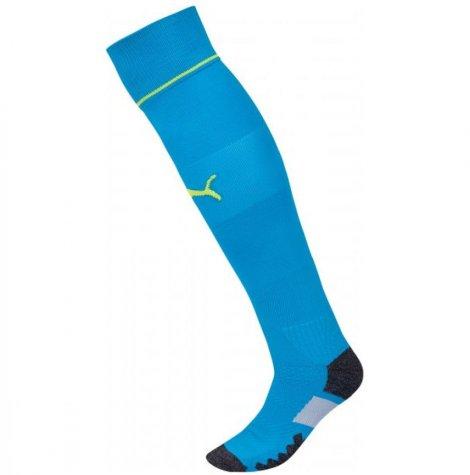 2016-2017 Newcastle Away Goalkeeper Socks (Atomic Blue)