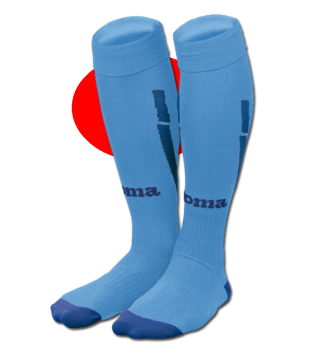 2012-13 Valencia Joma Away Socks (Blue)