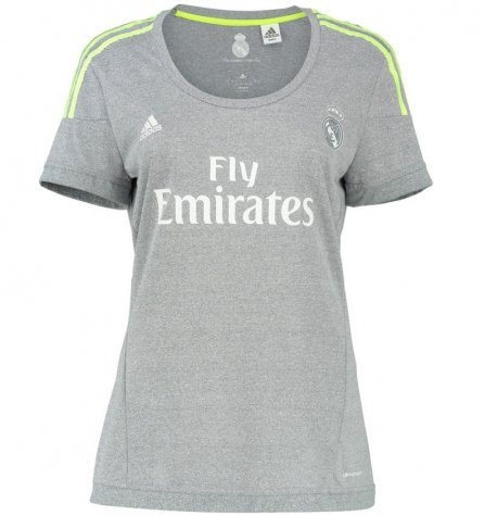 2015-2016 Real Madrid Adidas Womens Away Shirt  S12628  - Uksoccershop 53ab08768
