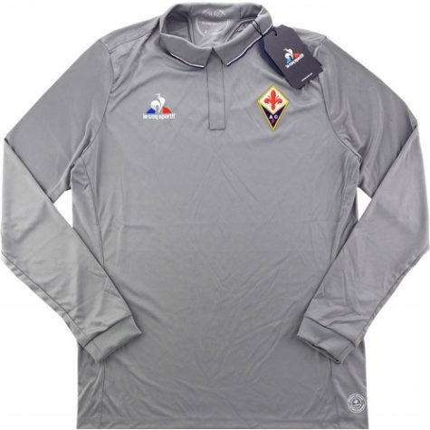 2016-17 Fiorentina Home Long Sleeve Goalkeeper Shirt