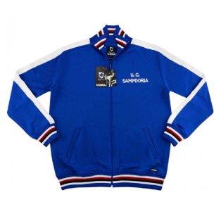 2019 Sampdoria Copa Retro Walk-Out Jacket