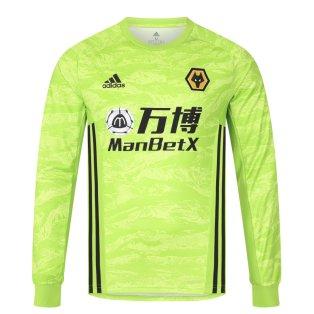2019-2020 Wolves Home Adidas Goalkeeper Shirt