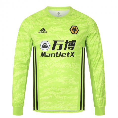 2019-2020 Wolves Home Adidas Goalkeeper Shirt