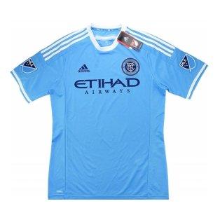 2016 New York City Adidas Home Authentic Football Shirt
