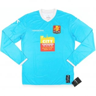 2013-14 FC Nordsjaelland Diadora Away Long Sleeve Football Shirt