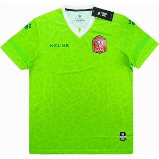 2018 Xinjiang Tianshan Leopard Kelme Home Football Shirt