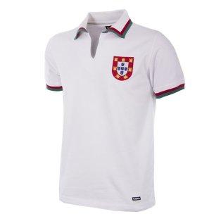 Portugal COPA 1972 Away Retro Football Shirt