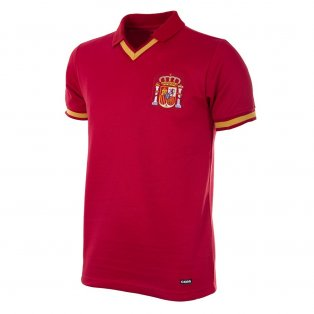 Spain 1988 Retro Football Shirt