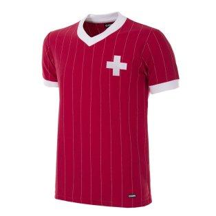 Switzerland 1982 Retro Football Shirt
