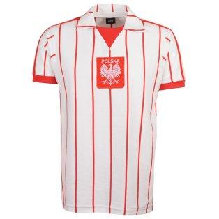 Poland 1982-84 Home Retro Football Shirt